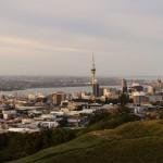 Sicht vom Mount Eden (Auckland)