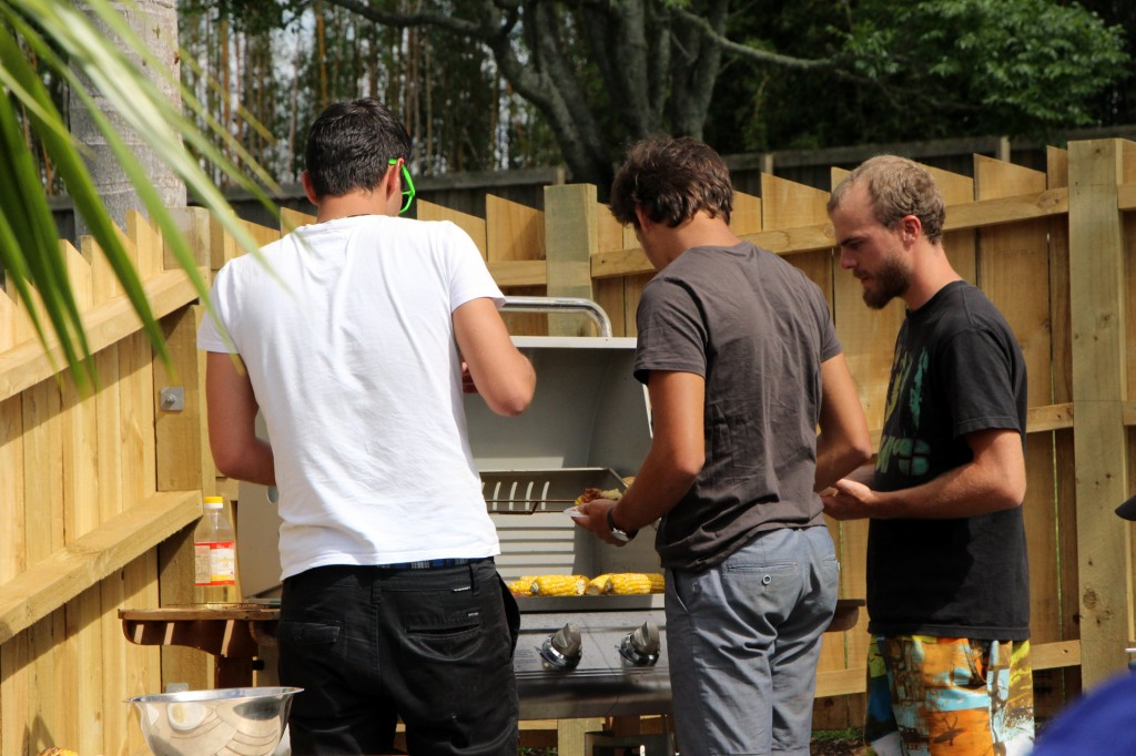 Barbecue bei Tony