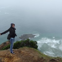 am Cape Reinga