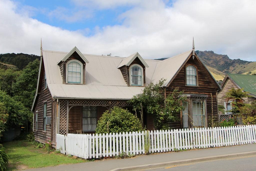 Häuschen in Akaroa