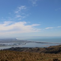 Blick über Christchurch