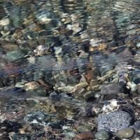 klares Flusswasser