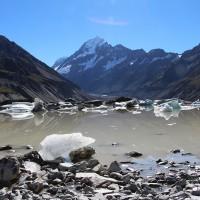 Hooker-Gletscher